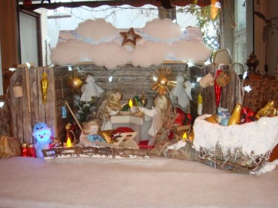 Weihnachtliche Packstatio