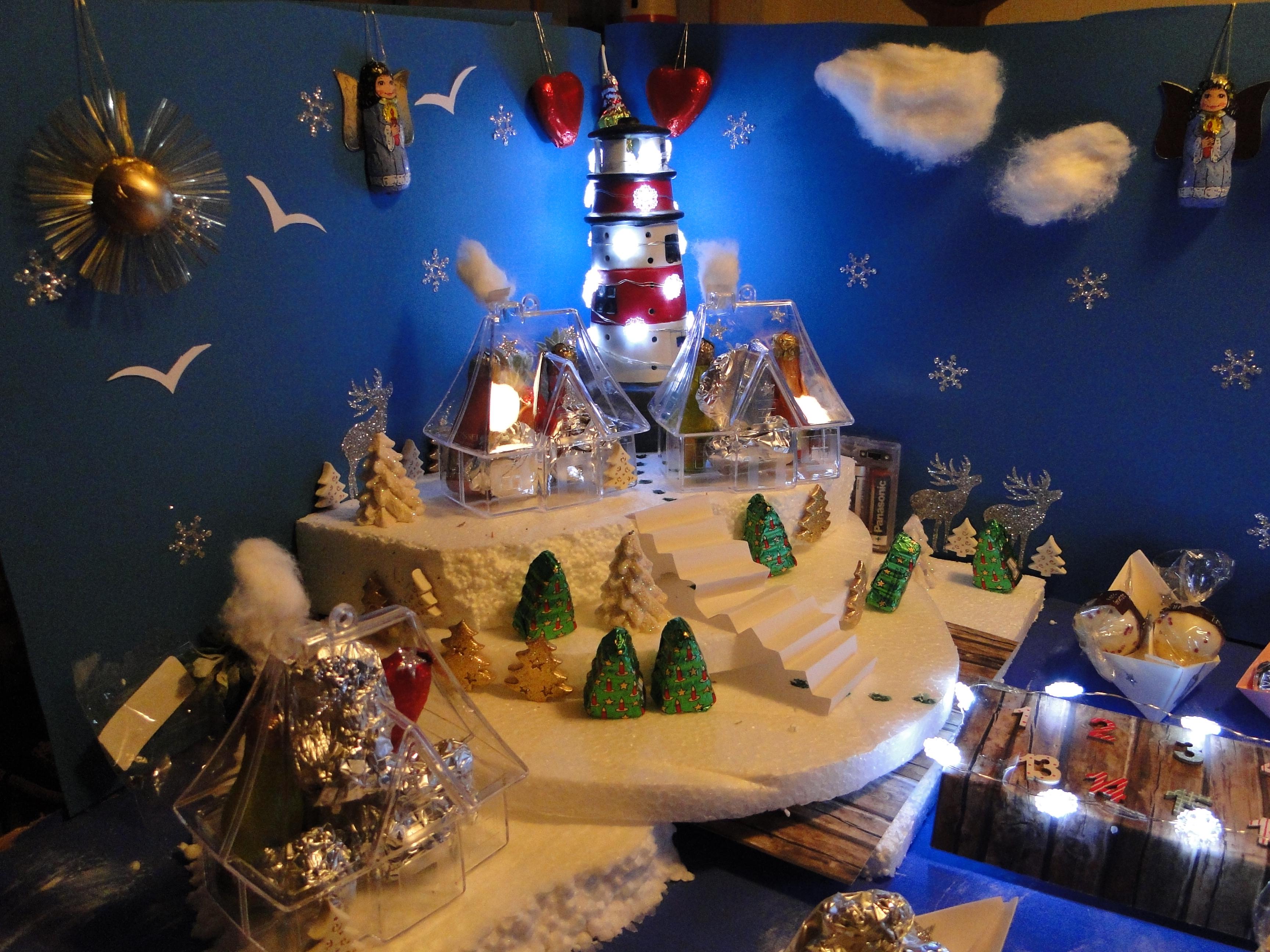 der weihnachtshafen adventskalender selbstgemacht. Black Bedroom Furniture Sets. Home Design Ideas